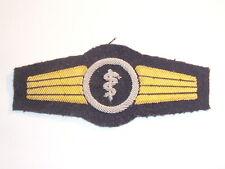 Blu marina esercito / Marine Abz. per Personale medico argento