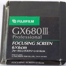 Pantalla de enfoque Fuji GX680 6x6cm, En Caja, Perfecto Estado