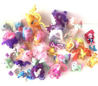 My Little Pony Mini Figure Lot Of 32 Assorted  Sizes & Years
