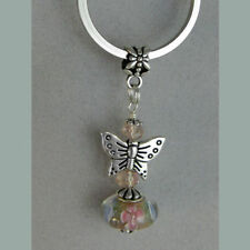 Handmade Floral Key Chains, Rings & Finders for Women