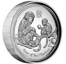AUSTRALIAN 2016 Lunar Year of the Monkey 1OZ SILVER HIGH RELIEF COIN Australia
