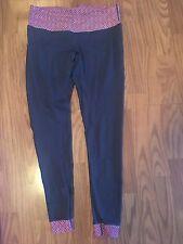 Krass & Co Athletic Yoga Pants Leggings Size 8 Navy