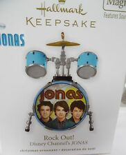 Hallmark 2010 Disney Channel's JONAS Rock Out Drums Ornament New in Box