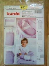 Burda Schnittmuster 9807 Baby-Ausstattung