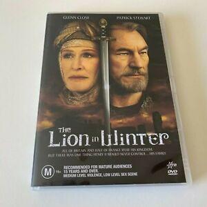The Lion In Winter DVD Region 4 Glenn Close Patrick Stewart