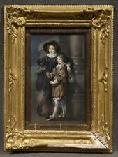 Children Standing on Street Corner, Oil Painting signed 'T. Kreppe'