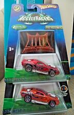 HOT WHEELS ACCELERACERS METAL MANIACES HOLLOWBACK 2X K3282 J7246 2005 *NEW*