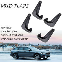 Set Mud Flaps For Volvo Splash Guards Mudguards Mudflaps Front Rear