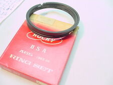 NEW NOS ROCKY BSA A65 650 +.060 PISTON RING SET FITS 1963 TO 1972