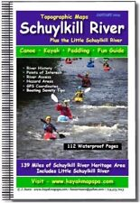 kayak - canoe Schuylkill River,  Pa Topographic Mapbook