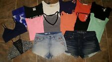 Juniors clothing lot size medium & large, huge lot of ladies clothes, forever 21