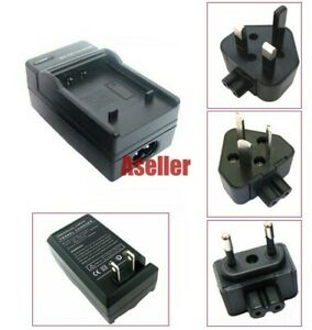 Battery Charger For Panasonic Lumix DMC-FT10 DMC-FP7 DMC-FP3 DMC-FP2 DMC-FP1
