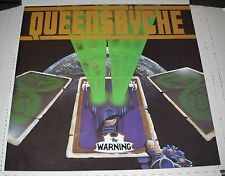 Queensryche-The Warning 12x12 Promo Album Poster Flat, 2 Sided, Brand New