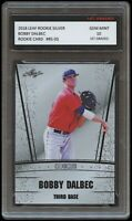 BOBBY DALBEC 2018 / '18 LEAF SILVER 1ST GRADED 10 ROOKIE CARD RC BOSTON RED SOX