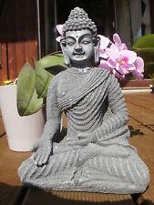 + wunderschöne Buddha Figur Skulptur Statue Kunststein
