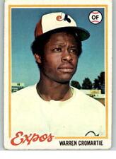 1978 Topps #468 Warren Cromartie F1C942