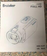 Besteker Video Camera Camcorder 1920X1080(Hdv-312P) Digital Video Camera