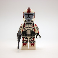 Lego Star Wars Custom ARC Clone Trooper Stone with Ranged Backpack & Blaster