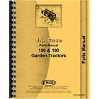 Parts Manual Fits Case 150 Lawn & Garden Tractor