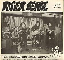 """ROGER SERGE """"LES RUCHTIS"""" FOLK FRANC-COMTOIS LP RST 6490"""