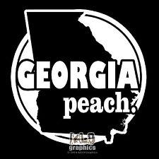 GEORGIA PEACH vinyl sticker FUNNY SEXY Locker Window Locker Car Truck