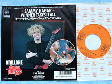 "SAMMY HAGAR Winner Takes It All 07SP1010 JAPAN 7"" 092az42"