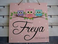 Animals Floral Plaques & Signs
