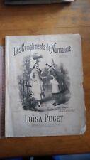Ancienne Partition - Les compliments de Normandie - Loisa Puget - G.lemoine