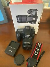 Canon EOS 70d Kit in Box with 18-55 mm Lens