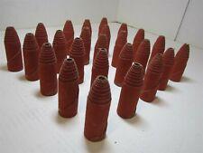 "25 Standard Abrasives 730175 Ceramic Cartridge Rolls 1"" x 3"" x 1/4"" 80-Co-Rb"