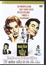 Sunday in New York (1963) * Rod Taylor, Jane Fonda * Region 2 (UK) DVD * New