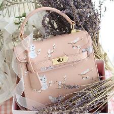 Sweet Lolita Elegant Mori Girl  Women Pink Handbags Messenger Bag Shoulder Bags