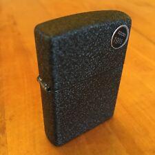 Genuine Zippo 236 black crackle windproof Lighter CASE ONLY No Insert/Box