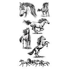 Horses Inkadinkado Clear Stamp Set