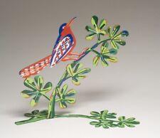 """David Gerstein """"SONG BIRD"""" 3D-Metallskulptur von 2006"""