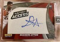 2018-19 Panini Instant Access DeAndre Ayton Rookie Auto 1/10 RC Phoenix Suns