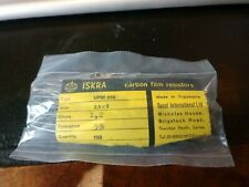 Iskra Carbon Film Resistor. OHMS 1,2. Tolerance 5%.