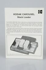 Kodak Carousel Stack Loader ORIGINAL INSTRUCTIONS Slide Projector