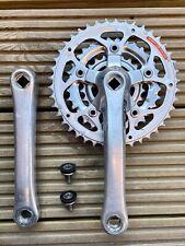 Shimano STX RC FC-MC36 Crankset - 170mm - Square Taper - Retro Mountain Bike