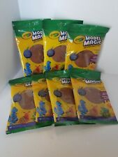 Crayola Model Magic Soft, Squishy Modeling Material in color Earthtone Lot of 7