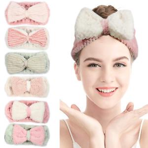 6 Pack Spa Bath Shower Makeup Wash Face Cosmetic Headband Hair Band Coral