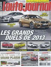 L'AUTO JOURNAL n°875 du 21/02/2013