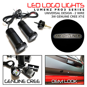 Lumenz CL3 White LED Courtesy Logo Lights Ghost Shadow for Freightliner 100928