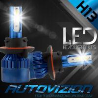 AUTOVIZION LED HID Headlight kit H13 9008 White 2008-2016 Ford E-350 Super Duty