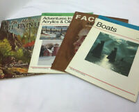 Lot Of 4 Vintage Walter And Foster How To Draw And Paint Books
