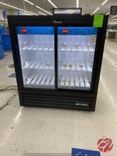 True Gdm 41sl 54 Hc Ld Sliding Glass Door Commercial Refrigerator Cooler Used