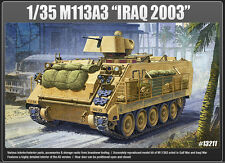 Academy Vehicle Hobby 1/35 Scale Plastic Model Kit M113A3 Iraq 2003 #13211