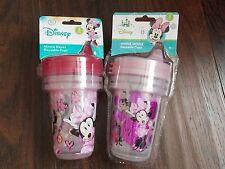 DISNEY Baby/Kids MINNIE 6 Reusable 10 oz SIPPY CUPS~BPA Free