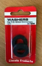 Water Heater Supply Line Washers, 3/4 in. 2 Pack, Free Shipping!