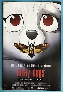 Stray Dogs #1 Silence Of The Lambs Homage Image Comics NM Fleecs Image 2/21
